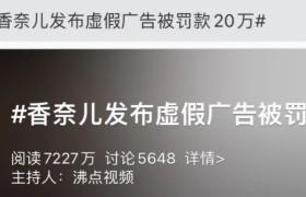 香奈儿因违反新广告法处罚20万元,停止发布广告